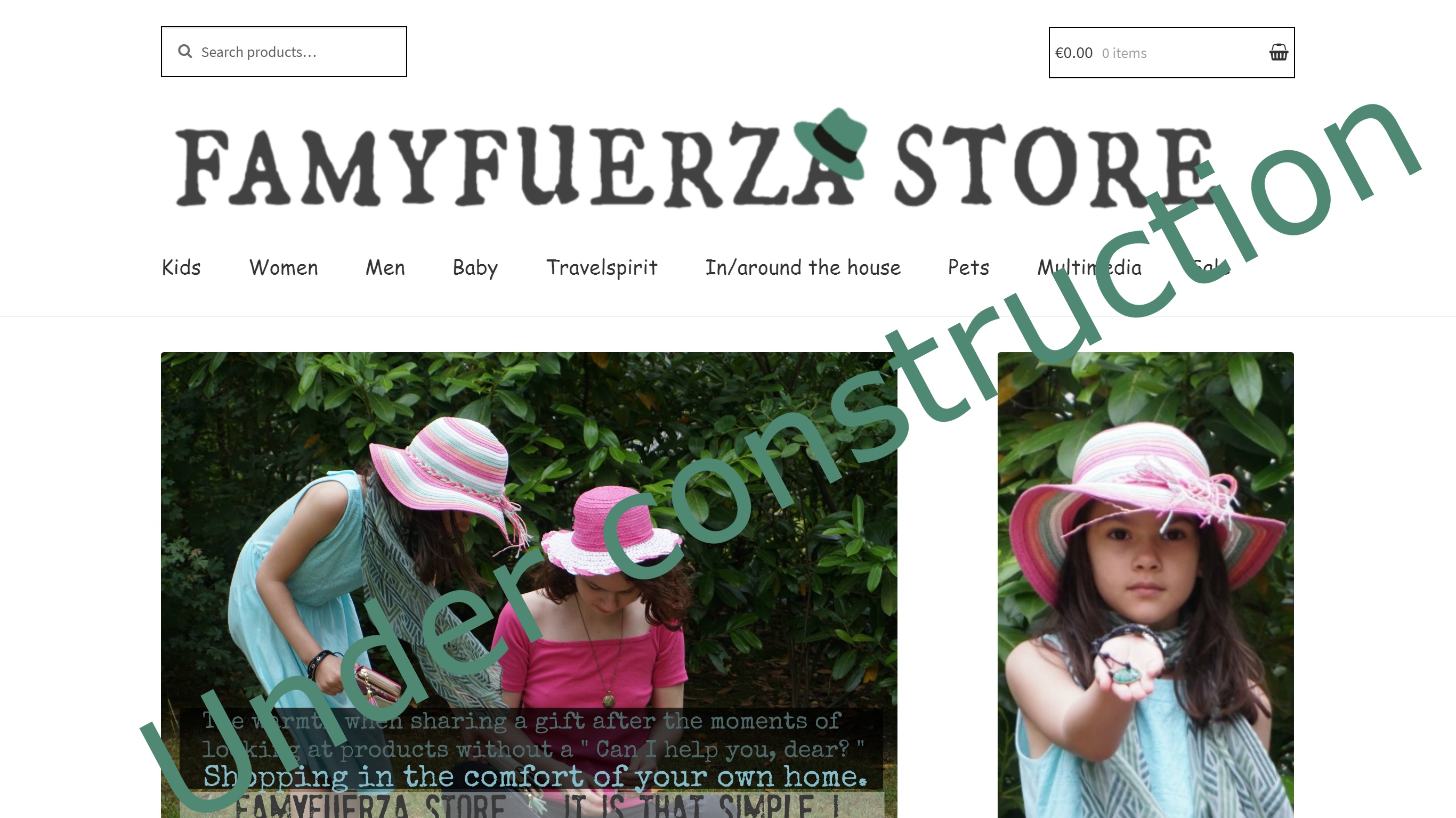 Famyfuerza Store Under construction